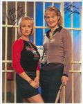 Victoria Alcock and Kika Mirylees, BAD GIRLS, 10 x 8 genuine signed autograph 10719